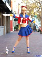 Sailor V- The Soldier of Justice! by jobiberry