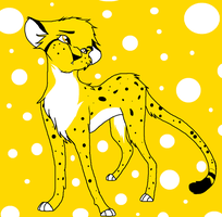 I'm just a lil old cheetah by DPpuppy