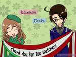 Thank you for 200 Watchers by Ask-AusHun