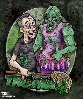 Uncle Lloyd and Toxie by DorkZombie