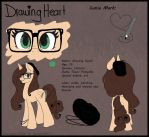 Drawing Heart Reference Sheet by Drawing-Heart