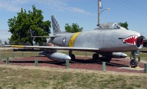 North American F-86H Saber by shelbs2