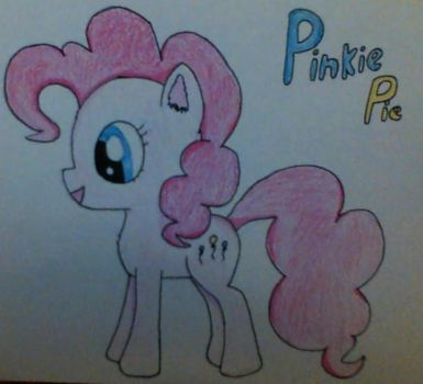 [MLP] Pinkie Pie by CheezyBananaMonster
