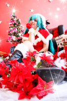 Merry Christimas - Hatsune Miku by LollipopBunnie