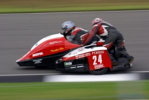 Sidecar 24 @ Donnington by Petrol-Head-Images