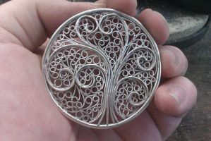 Work in progress: Filigree lid by stian-c