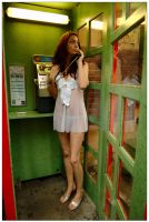 Kathryn - phone booth 2 by wildplaces
