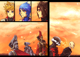 KH:BBS The Gathering by Azuteor