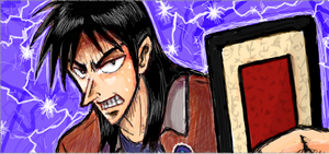 Kaiji - E-Card by christenlanger