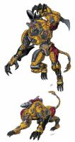 TF Beast Wars Cheetor by Dan-the-artguy