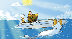 Waves by plumcats