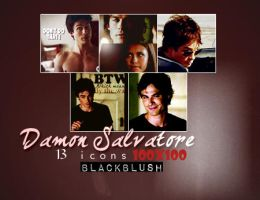 Damon Salvatore icons. by BlackBlush