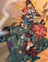 Tank Girl by eldeivi