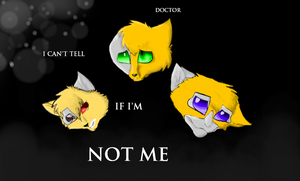 Doctor, I Can't Tell If I'm Not Me by LordMuffinX3