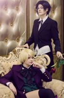 Claude Faustus: butler and his master by WiseKumagoro
