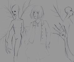 Pan's Labyrinth doodles by DrButterfly-TheCHAOS