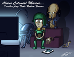 Aliens Colonial Disappointment by FrancoFerrari