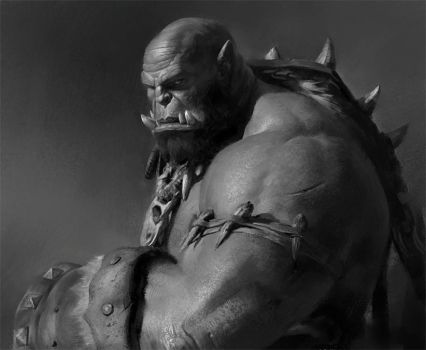 Value study 2 by Samarskiy