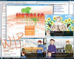 [W.I.P]Hetalia: Interacting Dating Game by xXKikaru-ChanXx