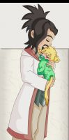 KH BBS: Eraqus and Little Ven by AD-SD-ChibiGirl