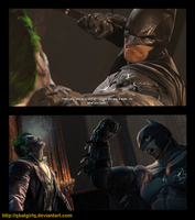 Batman Arkham Origins completion post by qBATGIRLq