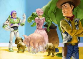 Toy Story by Deputee