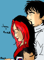J and Marshall by LoveFoolosophy
