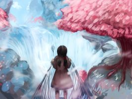 LPI: Trip to Cherry Blossom Falls by Scarlet-Songstress