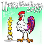 Happy New Year of the Rooster! by fan4battle