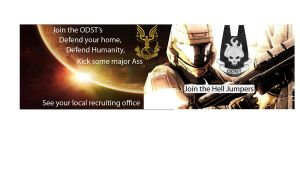 ODST Recruiting Banner by Phoenix360