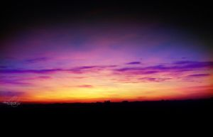 Country sunset 03 by Ajandra