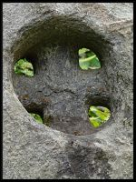 Cross in the stone... by Yancis