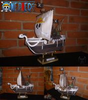 Going Merry papercraft by m0rf0