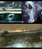 Landscape speed painting III by UlricLeprovost