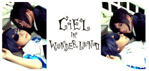 Ciel in Wonderland by curionenene