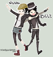 Billy and Wilson ::entry:: by MissRoxieGraves