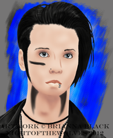 Andy Biersack ::SAVIOUR:: by lucidcoyote