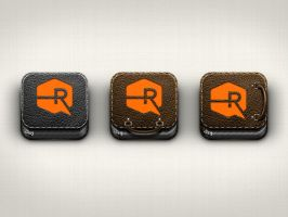 Personal Portfolio iOS Icons by TheRyanFord