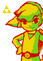 3 Colour Wind Waker Link by squeezycheesecake