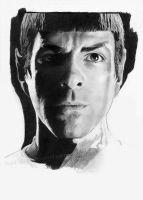 Mr. Spock WIP 3 by Fayeren
