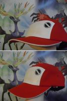 Commission   Pokemon Red's Hat Ver 1 by SailorUsagiChan