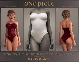 Laticis's FREE - One Piece Clothing / Gen2 Female by Laticis