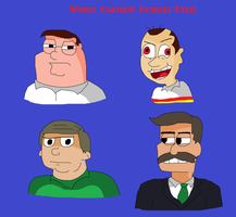 Worst Cartoon Fathers Ever by TXToonGuy1037