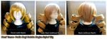 Mami Tomoe Wig - Fully Styled by CauldronOfMischief