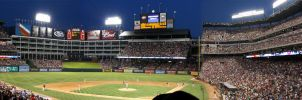 Texas Ranger Stadium by iballoon