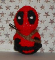 Deadpool Amigurumi by Craftigurumi