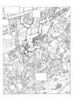 Moebius L'Incal Noir Tome Inks by AndrewKwan