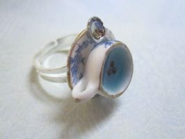 Blueberry tea ring by CandyChick