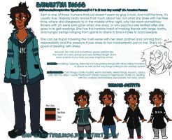 Quick Ref: Sam Biggs by MythrilMog