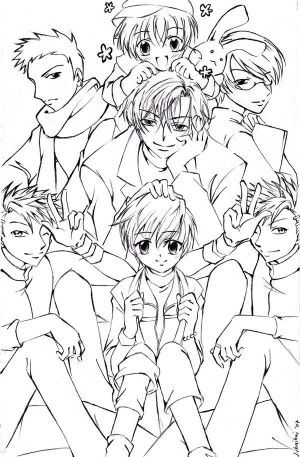 Juhaihai art works Ouran_High_Host_Club_by_juhaihai